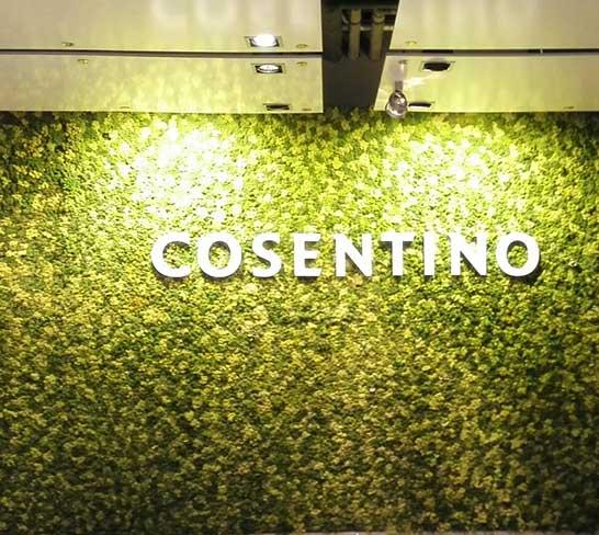 Jardín vertical Cosentino, Cantoria, Almería